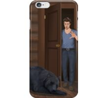 A Bear in the Woods - Vincent & Christian iPhone Case/Skin