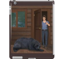A Bear in the Woods - Vincent & Christian iPad Case/Skin