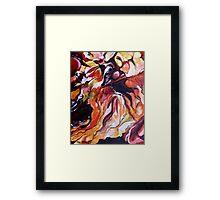Coober Pedy - Bird's eye view Framed Print