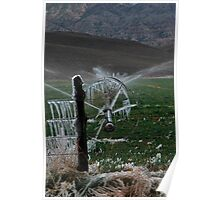 Icy Fields - Utah Highway 89 Poster