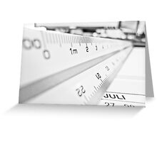 Scale Greeting Card