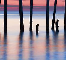 Pier Abstract  by ezindo