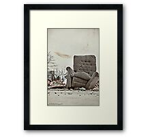 Abandoned Comfort Framed Print