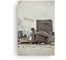 Abandoned Comfort Canvas Print