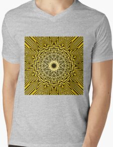 Abstract / Psychedelic / Geometric Artwork Mens V-Neck T-Shirt