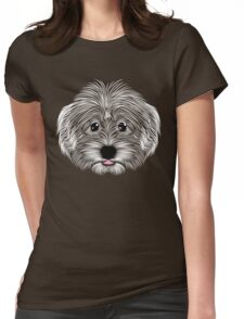 Havanese Happiness Womens Fitted T-Shirt