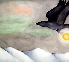 Crow Brings Light by SarahACohen
