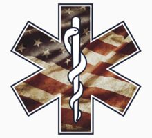 Star of Life America Weathered (EMS) by greaterthanme