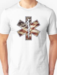 Star of Life America Weathered (EMS) T-Shirt
