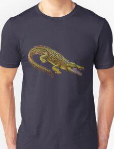 Vintage Crocodile Illustration T-Shirt