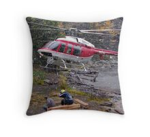 Cool Landing Throw Pillow