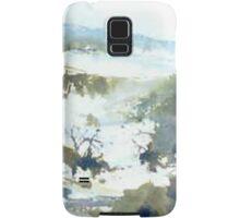 Perisher (watercolour) NSW Australia Samsung Galaxy Case/Skin