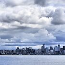 Seattle Skyline by R. Mike Jacobson