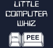 Little Computer Whiz -- Baby Onesie One Piece - Short Sleeve