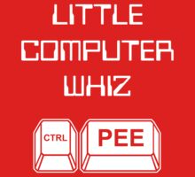 Little Computer Whiz -- Baby Onesie Kids Clothes
