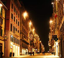 Evening window shopping -Ancona, Italy by shilohrachelle