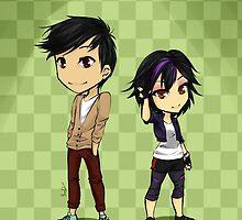 Tadashi and Gogo by yavid