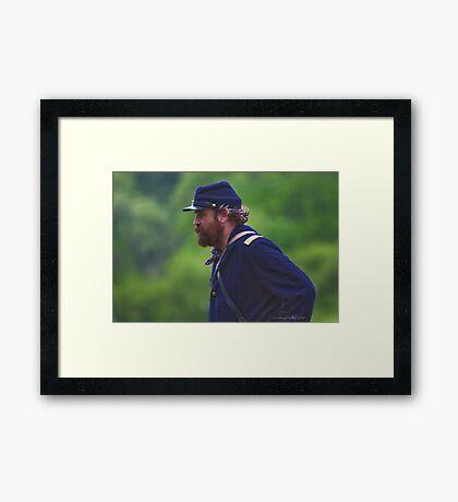 Master Sargent  Framed Print