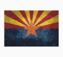 State flag of Arizona, with vintage retro style treatment One Piece - Long Sleeve