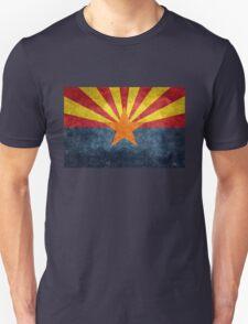 State flag of Arizona, with vintage retro style treatment T-Shirt