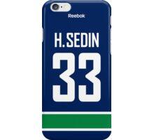 Vancouver Canucks Henrik Sedin Jersey Back Phone Case iPhone Case/Skin