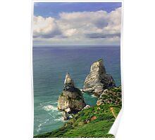 Pedra da Ursa (75m) e Pedra do Alvidar (92m), Sintra Poster