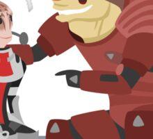 Mass Effect - Wrex and Mordin Sticker
