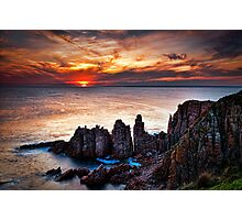 Shooting the Pinnacles Photographic Print