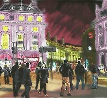 Piccadilly in Pink by Kyleacharisse