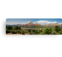 Sedona Panorama Canvas Print