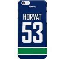 Vancouver Canucks Bo Horvat Jersey Back Phone Case iPhone Case/Skin