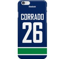 Vancouver Canucks Frank Corrado Jersey Back Phone Case iPhone Case/Skin