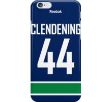Vancouver Canucks Adam Clendening Jersey Back Phone Case iPhone Case/Skin