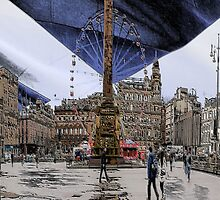 Glasgow George Square by Dougie Badger