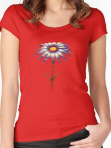 a lonely flower Women's Fitted Scoop T-Shirt