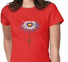 a lonely flower Womens Fitted T-Shirt