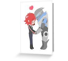 Mass Effect - Shakarian [Shirts, Prints, & Sticker] Greeting Card