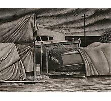 """""""Dry-Dock II"""" Conte, 50x65cm. Photographic Print"""