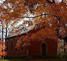 A Time Forgotten - Bethel School House 1876 by Tony Wilder