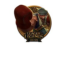 Knockout Lee Sin Photographic Print