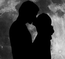 Lovers Silhouette by Tr0y
