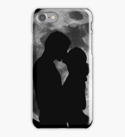 Lovers Silhouette iPhone Case/Skin