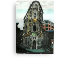 Black Friars Pub- London Canvas Print