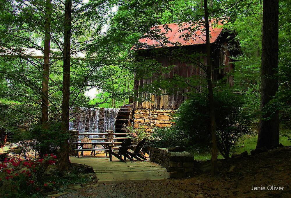 Lefler Grist Mill by Janie Oliver