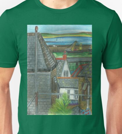 The View from Atlantic House Window Unisex T-Shirt
