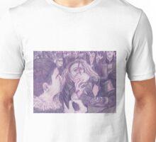 Rose Tinted Silence Unisex T-Shirt