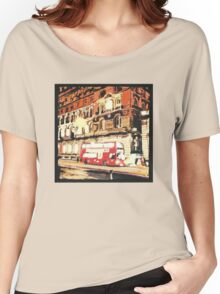 London Bus at Night Women's Relaxed Fit T-Shirt
