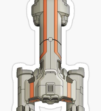 Federation Cruiser Sticker