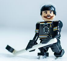 Patrice Bergeron (The Boston Bruins) by Matthew  Wallace
