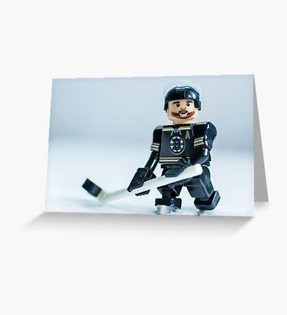 Patrice Bergeron (The Boston Bruins) Greeting Card